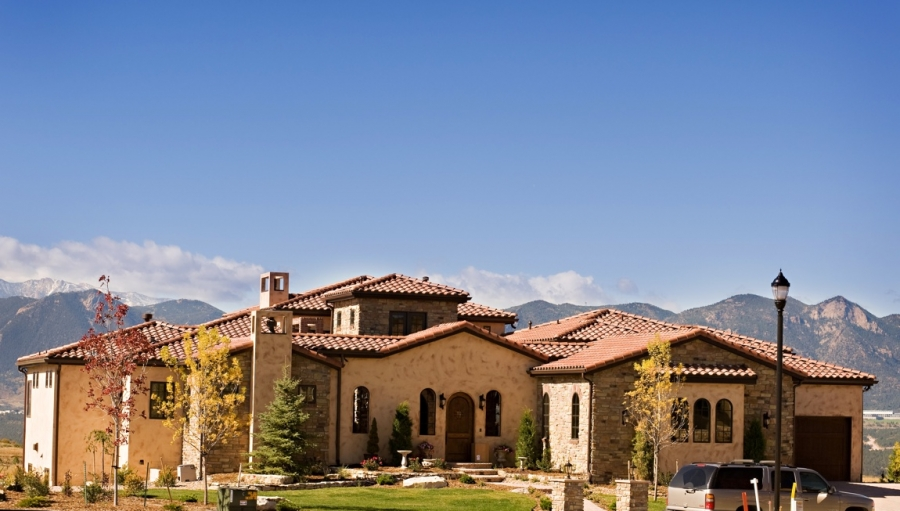 Tuscan Style Home designing the exterior of your tuscan style home | bella vita