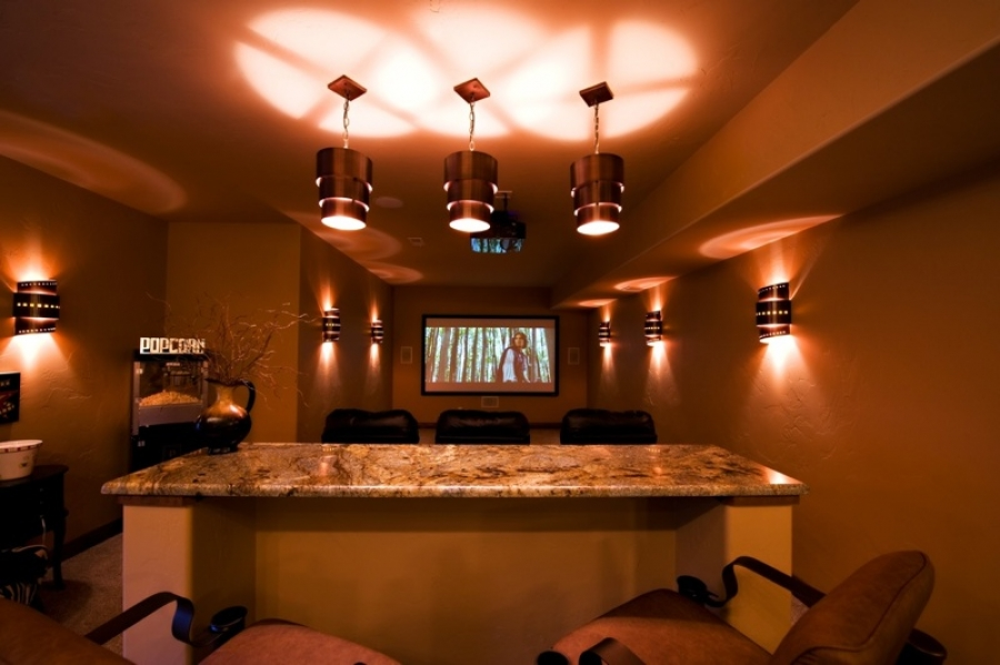 Colorado Springs Custom Home Theater Designs Part 90